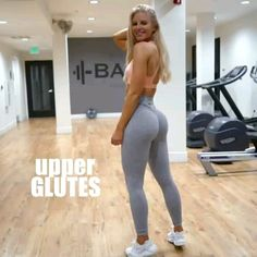 Upper Glutes Workout Upper Glutes Workout,Fitnessübungen Try this upper glutes workout with limited equipment: Hip abduction chair replacement 12 reps per side x Side walk with a weight plate in your. Fitness Workout For Women, Body Fitness, Fitness Goals, Fitness Tips, Fitness Motivation, Motivation Quotes, Gym Workout Videos, Butt Workout, Gym Workouts