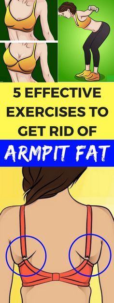5 EFFECTIVE EXERCISES TO GET RID OF ARMPIT FAT – healthycatcher #KeepFit