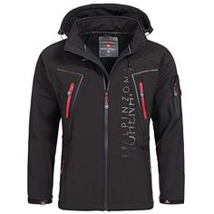 9d7a345f2d6 Geographical Norway Herren Softshell Funktions Outdoor Jacke  wasserabweisend  Amazon.de  Bekleidung