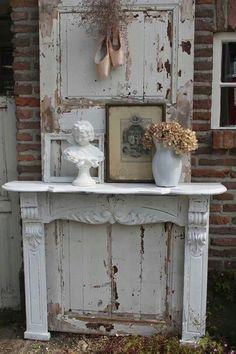 Voor in huis on pinterest pastel kitchen vintage kitchen and pastel - Geschilderd zink ...