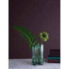 Clean and modern vase by the danish brand Holmegaard