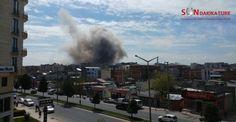 Son Dakika! Diyarbakır'da şiddetli Patlama!