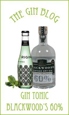 ... The Gin Blog. Y nos enseñan a preparar un gin tonic perfecto con Blackwood's 60% y Original Mint