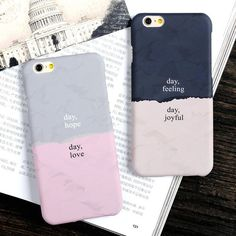 New Fashion Lover Couple Case Scratch-proof Shockproof Matte PC Cover For iPhone 6 6s 6 Plus 6s Plus