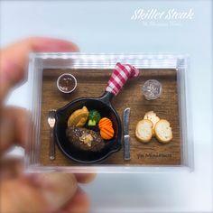 2018.04 Miniature Bekfast Dollhouse ♡ ♡ By yu Miniature