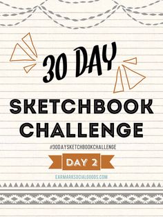 It's day two of the #30daysketchbookchallenge! We are seeing tons of amazing art streaming today! LOVING IT, it's so inspiring. If you are drawing along with us, share your drawing/pin with me so I can repin it to this board! Thanks everyone for your day two drawings! Awesome!