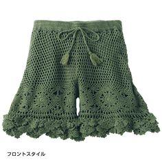 Otros pantalones cortos. Debate sobre LiveInternet - Servicio Ruso diario en línea Crochet Pants, Crochet Romper, Crochet Skirts, Crochet Clothes, Crochet Bikini, Beach Crochet, Crochet Lace, Boho Shorts, Lace Shorts