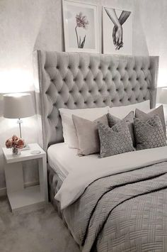 Cute and Modern Bedroom Interior Design Ideas 2018 Part 44 - Bedroom Design - Bedroom Decor Classy Bedroom, Bedroom Makeover, Luxurious Bedrooms, Modern Bedroom Interior, Stylish Bedroom, Bedroom Inspirations, Small Room Bedroom, Modern Bedroom, Small Bedroom