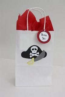 Pirate Favor Bags