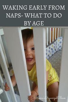 What to do when your baby wakes up early from a nap. This page details the appropriate action to take at each age. Babywise and baby whisperer inspired. Baby Schedule, Sleep Schedule, Newborn Schedule, Baby Up, Get Baby, Awake Times For Babies, Nouveaux Parents, Baby Whisperer, Guter Rat