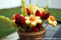 April Showers Bringing May Fruit Flowers | Healthy Ideas for Kids