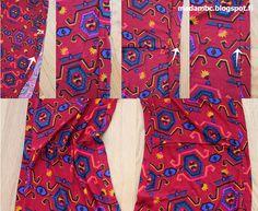 Madam B.C.: Tee-se-itse: Ompele mekko osa 3. Floral Tie, Tees, Fashion, Moda, T Shirts, Fashion Styles, Fashion Illustrations, Teas, Shirts
