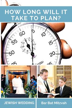 Know how much time it will take you to plan a successful Jewish Wedding or Bar/Bat Mitzvah. You need to set aside this time if you are a DIY Party Planner. Jewish Wedding Ceremony, Wedding Chuppah, Diy Party Planner, Party Planning, Unique Weddings, Jewish Weddings, Wedding Centerpieces, Centerpiece Ideas, Bar Mitzvah
