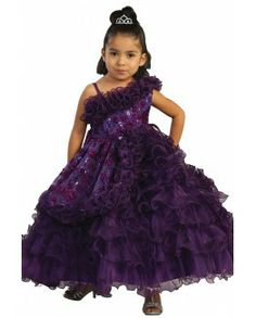 One off-shoulder Organza Princess Ball Gown with Sequin Embroidery http://www.lynallan.com/06-5567?search=purple#.U5i6LCimU1I