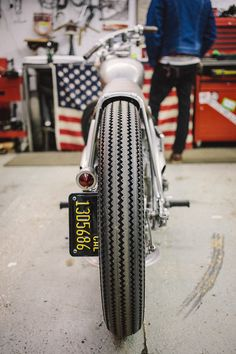 Bobber Inspiration | Bobber rear tire | Bobbers and Custom Motorcycles - repined by http://www.vikingbags.com/ #VikingBags