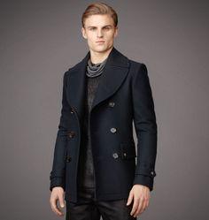 Belstaff | Mens Wool Brentwood Coat | Mens Designer Jackets & Coats