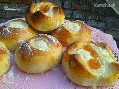 Tvarohové koláče (fotorecept) - Recept