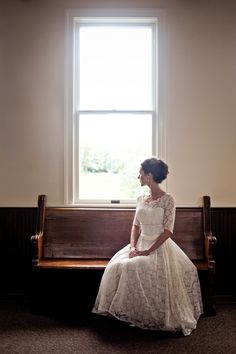 Classic-Vintage-Wedding-by-Rebekah-Murray-7 : Simple