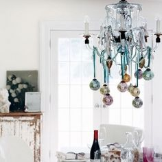 A party chandelier that is nothing short of glam!