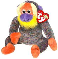 ca24fdff4d2 Amazon.com  TY Beanie Baby - BANANAS the Monkey  Toy   Toys