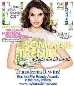 Transderma R. Best New Vitamin serum. Love it! Won the Elle Beauty Awards in Sweden... http://www.mytransderma.com if you want to know more.