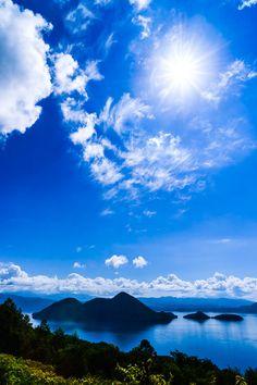 数年前サミットが開催された洞爺湖は夏は涼しくて快適な避暑地!