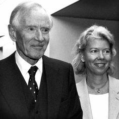 Mærsk and his daughter Ane Mærsk Mc-Kinney Uggla