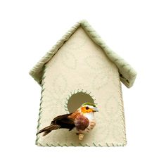Studio Ditte Muursticker Vogelhuisje Groen