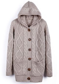 / Light Coffee Bat Sleeve Loose Thick Sweater