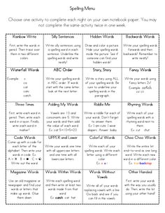 Awesome ideas for writing activities. Print out and have kids paste in writing journals