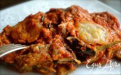 Пармиджана из баклажанов  | Кулинарные рецепты от «Едим дома!»