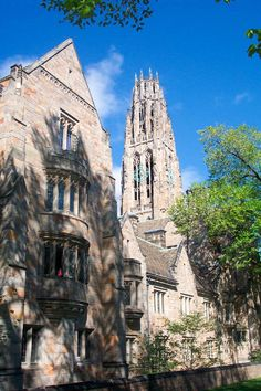 Yale University, New Haven. First trip to the East Coast.