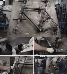 Watch Colnago's Carbon Fiber C60 Custom Racing Bicycle Come Together