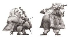 "Oleg Lipchenko illustration for ""Alice's Adventures in Wonderland""."
