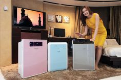 Samsung Electronics launches new Hauzen Air Purifier that removes toxic substances in yellow dust with effect.    Samsung Hauzen Air Purifier has an intuitive user interface and is enhanced by the S-Plasma Ion technology for eliminating viruses, allerg http://hc.com.vn/vien-thong/dien-thoai-di-dong.html  http://hc.com.vn/vien-thong/  http://hc.com.vn