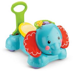 Check Fisher-Price Bounce, Stride and Ride Elephant at Top 10 Best Baby Sit Ride on Toys for 1 Year Old and Above Girls and Boys from Babies and Toddlers in Riding Toys - Best Kids Ride on Toys Jouets Fisher Price, Fisher Price Toys, Kids Ride On Toys, Kids Toys, Brinquedos Fisher Price, Best Baby Toys, Push Toys, Toys For 1 Year Old, Mattel