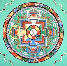 Buddhist+Mandala | mandala of compassion - avaloktiteshvara