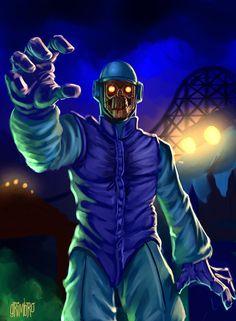 Busqueda Interminable de un Yo Inexistente | gameraboy: Scooby-doo villains by Grimbro