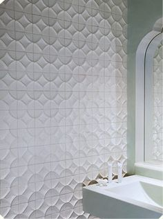 Ann Sacks tiled bathroom