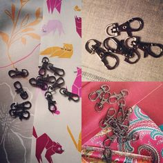"""""""Getting closer to new designs now some metalwork has arrived Some Ideas, Handmade Bags, News Design, Bag Making, Metal Working, Closer, Fabric, Instagram Posts, Handmade Purses"""