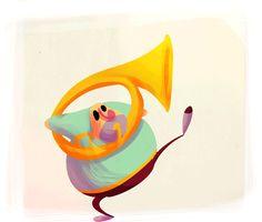 Dima Treyakov's Animations on Behance