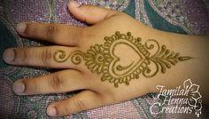 Little heart henna www.JamilahHennaCreations.com