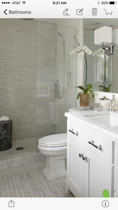 love the shower tile to ceiling modern white small bathroom design idea tile in shower
