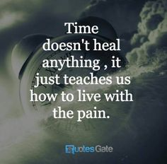 So true. We can let go, we can learn to forgive, we can bury the memory, but it will always be there. Sometimes a trigger can dig deeper than the hole.