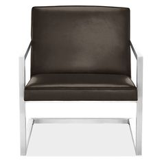 Lira Leather Lounge Chair - Modern Accent & Lounge Chairs - Modern Living Room Furniture - Room & Board