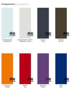 Collezione TRASPARENTI / Collection TRASPARENTS di #MRartdesign