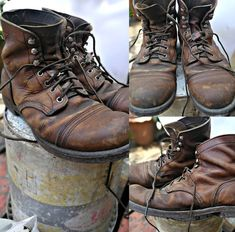 Then simply click right here for further details. Jeans And Sneakers, Leather Sneakers, Jeans And Boots, Mens Boots Fashion, Male Fashion, Red Wing Iron Ranger, Mens Wardrobe Essentials, Men's Shoes, Shoe Boots