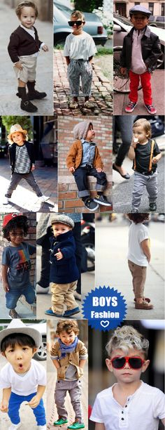 Boys fashion, in honor of my new nephew!