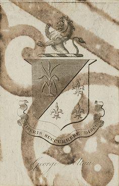 [Bookplate of George Soltau] by Pratt Libraries, via Flickr