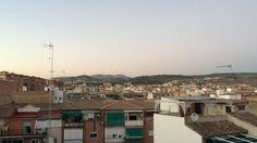 GRANADA | DESDE LAS ALTURAS | MP | Zaidín. Al fondo, Hotel Alhambra Palace.